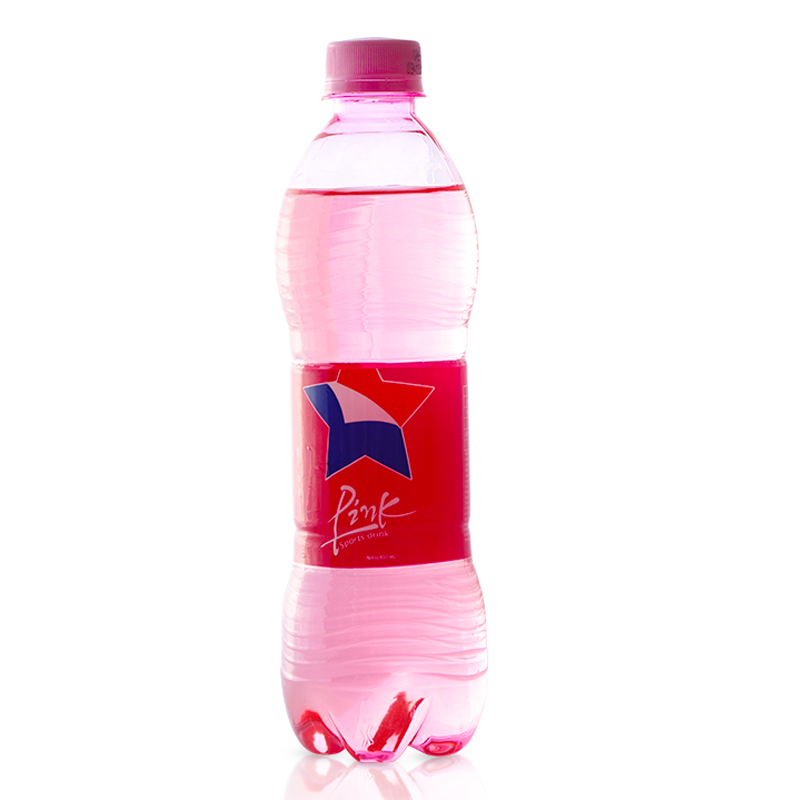 希腊进口爱琴海粉色雪碧碳酸饮料网红粉色可乐汽水450ml网红商品